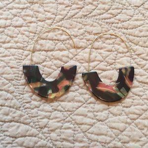 Earrings unique NWOT